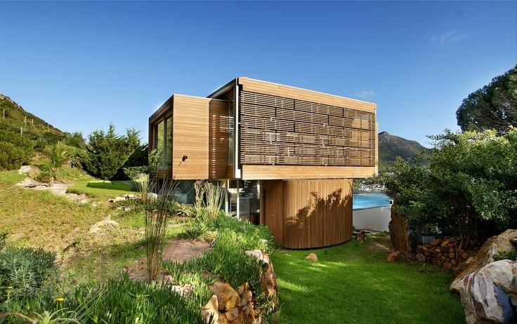 The designer's dream: The Spa House, Hout Bay.  http://www.capetownvillas.net/hout-bay/the-spa-house