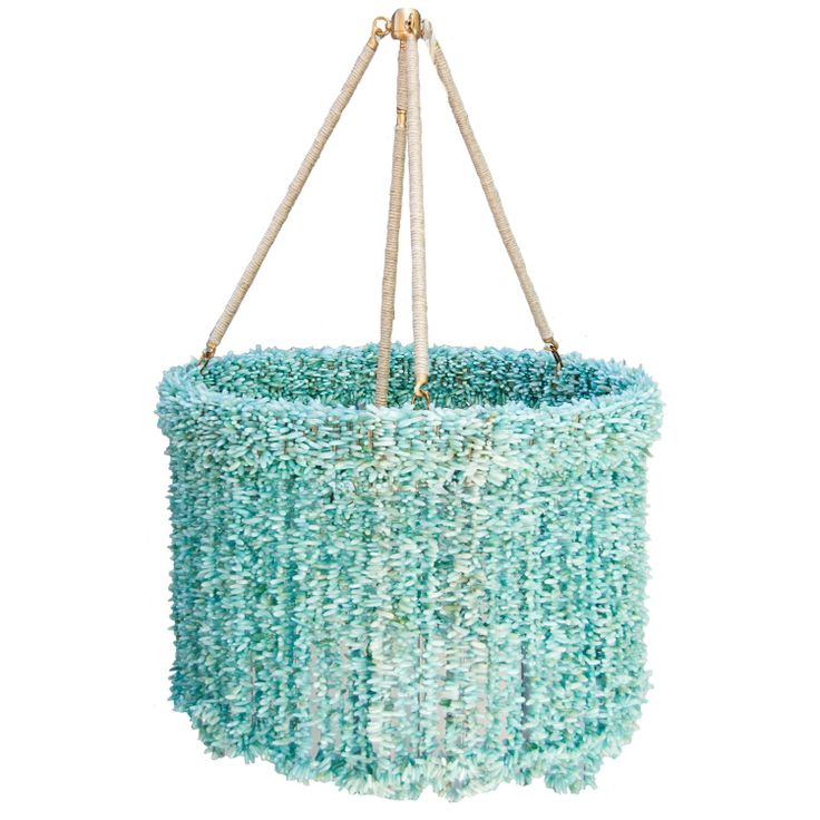 Ro Sham Beaux Lily Blue Quartz Chandelier A Strong Feature In A Room Filled  With Accents Inspired By Nature And The Sea.