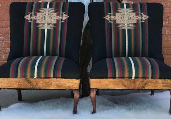 chairs native southwest pattern
