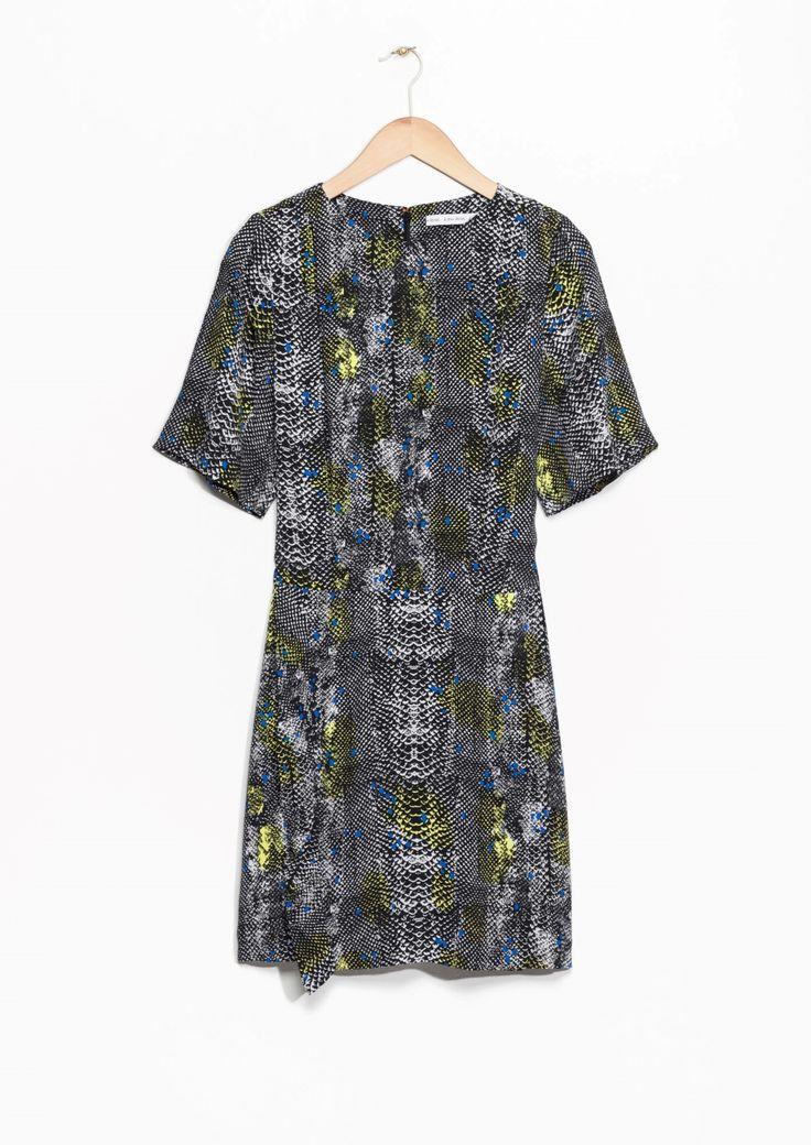 & Other Stories | Tree Snake Print Dress