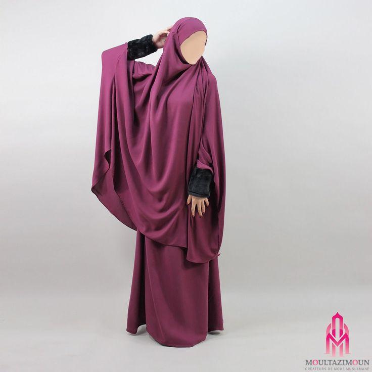 Jilbab Fourrure - Al Moultazimoun / #Overhead #khimar #jilbab #fur #cardigan #jilbab #best #abaya #modestfashion #modestwear #muslimwear #jilbabi #outfit #hijabi #hijabista #long #dress #mode #musulmane #clothing