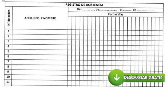 Calendario Escolar 2020 18 Aragon.Los Mejores Registros De Control De Asistencia De Alumnos En