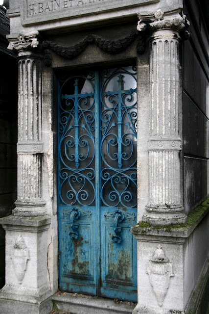 at Pere Lachaise