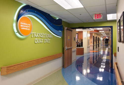 Transitional Care Unit, Children's Hospital of Richmond, VA.