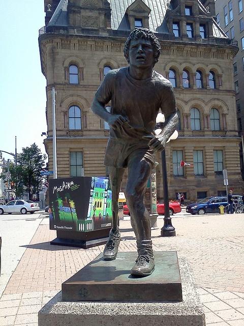 Terry Fox Statue Ottawa Canada by jtemplerobinson, via Flickr @skychi_travels