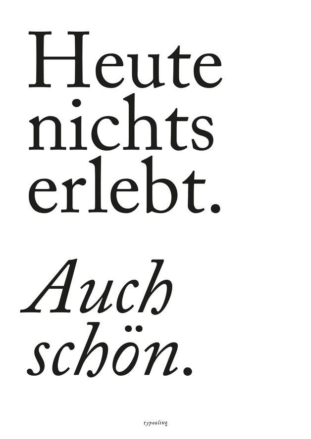 Digitaldruck – Kunstdruck Poster / Auch schön – ein Designerstück von typealive bei DaWanda
