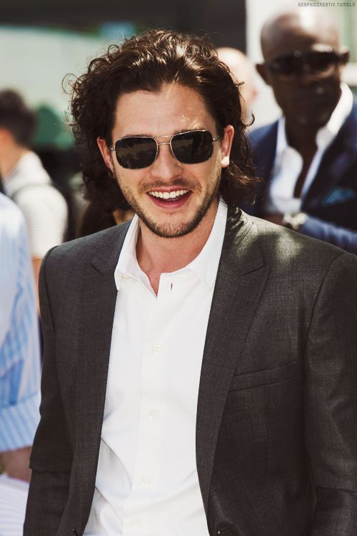 From Kit Harington's windblown curls to his goofy smile, sunglasses are the perfect accent to compliment his charming attitude.