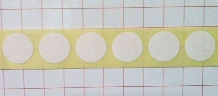1000 ETICHETTE ADESIVE BIANCHE PER SEGNA PREZZI TONDE mm. 40,6 GIOIELLI BIJOUX € 12,50