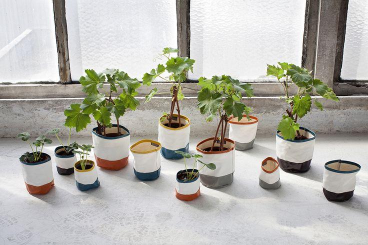 Feeling by Serax - Design Marie Michielssen - Canvas Bags - Planters
