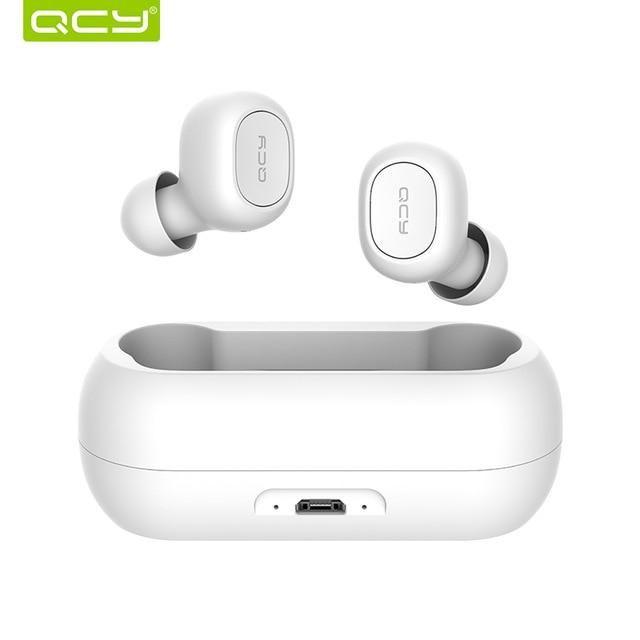 Qcy Qs1 Mini Dual V5 0 Wireless Earphones Bluetooth Earphones 3d Stere Ez Dropped Bluetooth Earbuds Wireless Headphones Bluetooth Earbuds