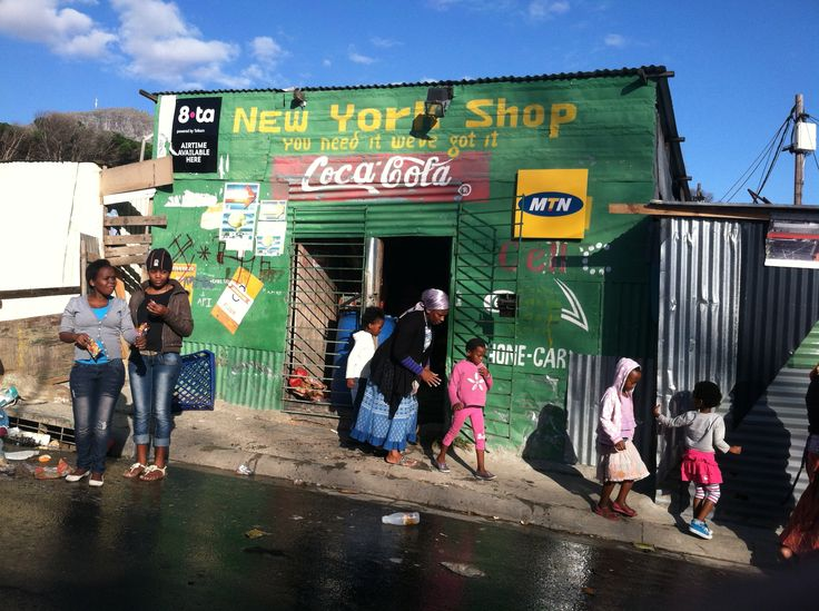 Spaza shop in a Cape Town Township.