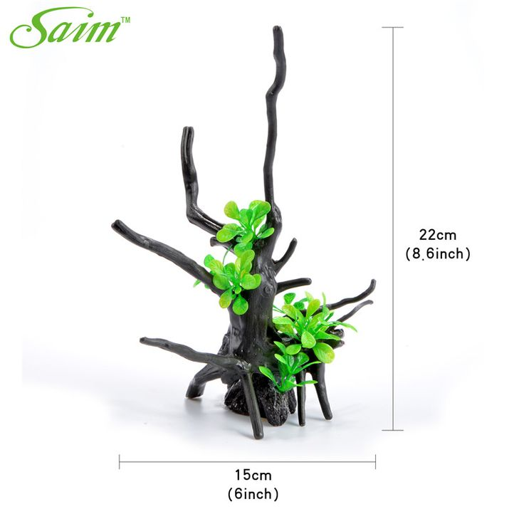 8.6 inch 2016 New Fish Tank Aquarium Decor Creature Green Plant Aquarium Landscape Decoration Simulated Big Leaf Ornament