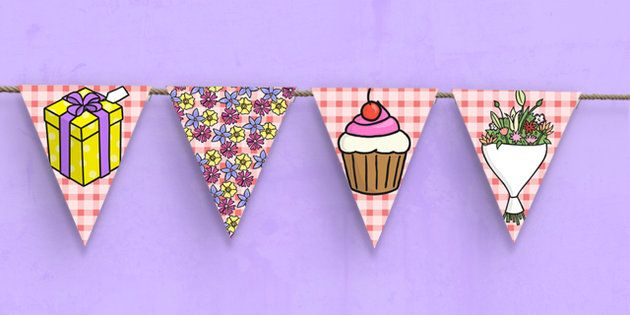 Mother's Day Bunting - mothers day, bunting, mothering sunday, display bunting, display, festival, mother