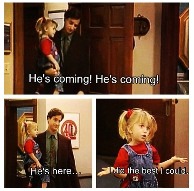 Full House favorite :) love this show