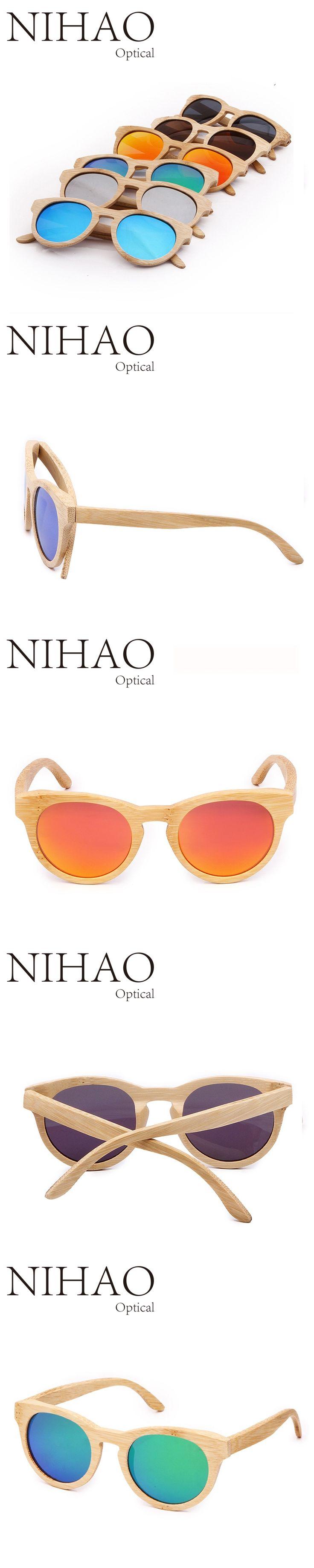 luxury brand sunglasses women 2017 brand glasses Bamboo wood sunglasses steampunk lunette de soleil femme wooden sunglasses