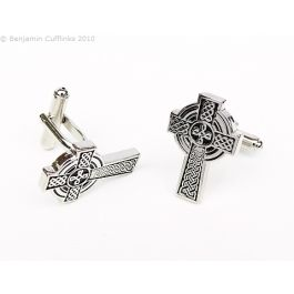 Celtic Cross Cufflinks - Beautiful Celtic Cross cufflinks - absolutely timeless.