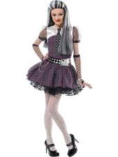 Girls Monster High Frankie Stein Dress Costume-Party City