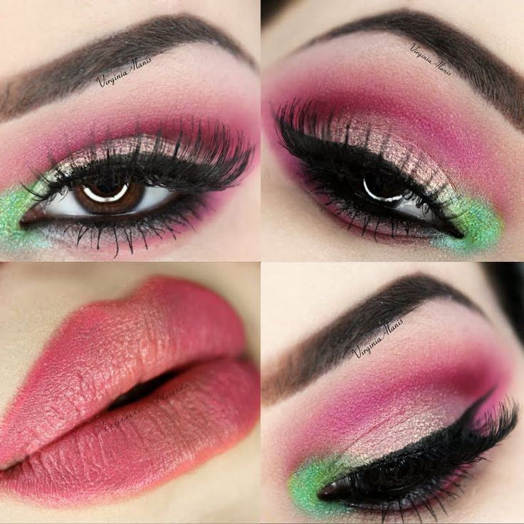 @GinnyAlanis charms us with IT: Spring-inspired makeup using gifted @ITCosmetics! OwnIT