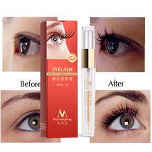 Tratamentos de Crescimento Dos Cílios Líquido de ervas Poderosas Maquiagem Chicote Do Olho Mais Grosso Melhor do que a Extensão Dos Cílios Soro Potenciador alishoppbrasil
