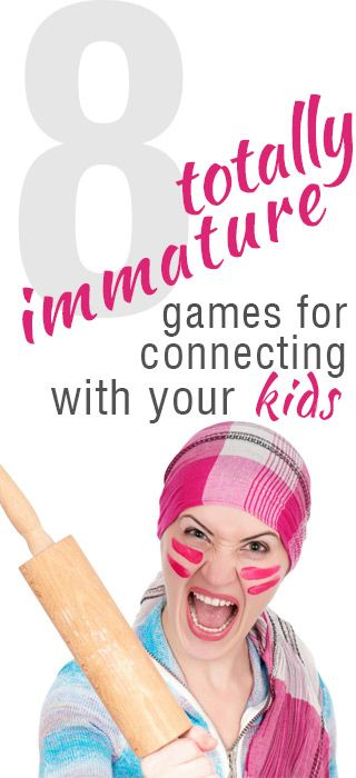 8 games that you can play to show your children that you may not be all the way grown up just yet.  http://www.101homeschoolideas.com/2014/05/02/episode30/