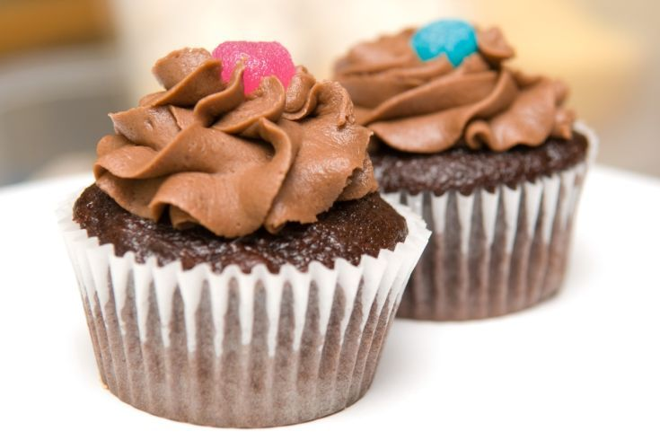 Cupcakes s Nutellou