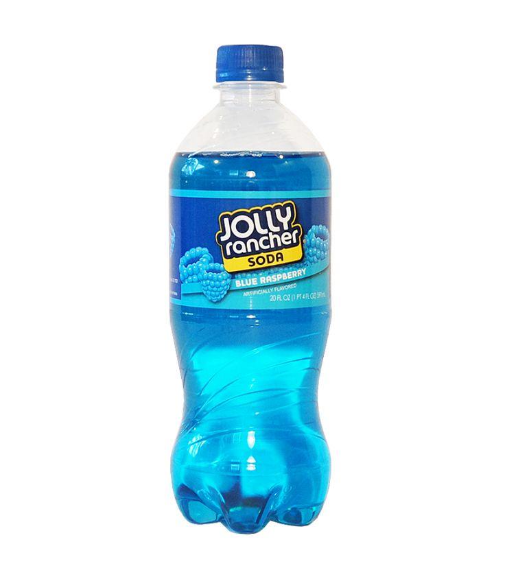 Jolly Rancher Blue Raspberry Soda 20oz (591ml) - American Fizz