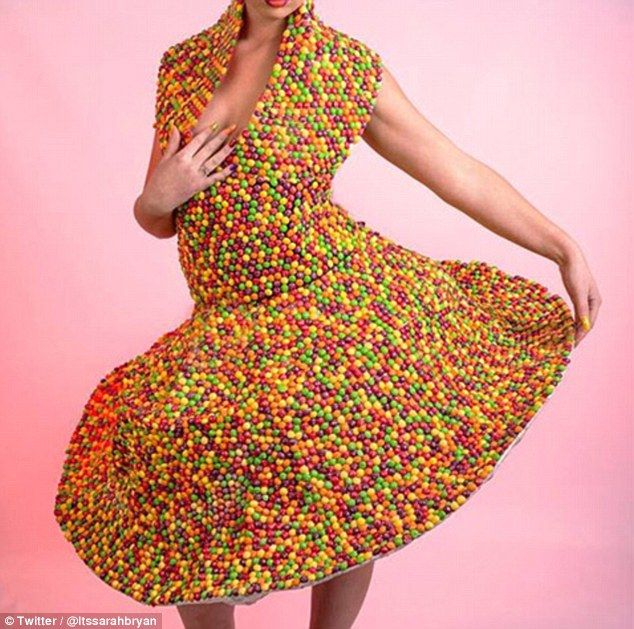 The eye-catching frock caught the attention of clothing company Ripleys who have given her her own line