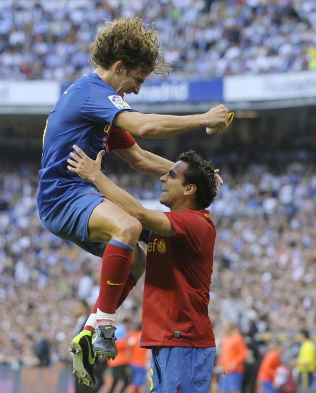 Puyol and Xavi
