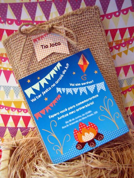 Convite Festa junina   Design Festeiro