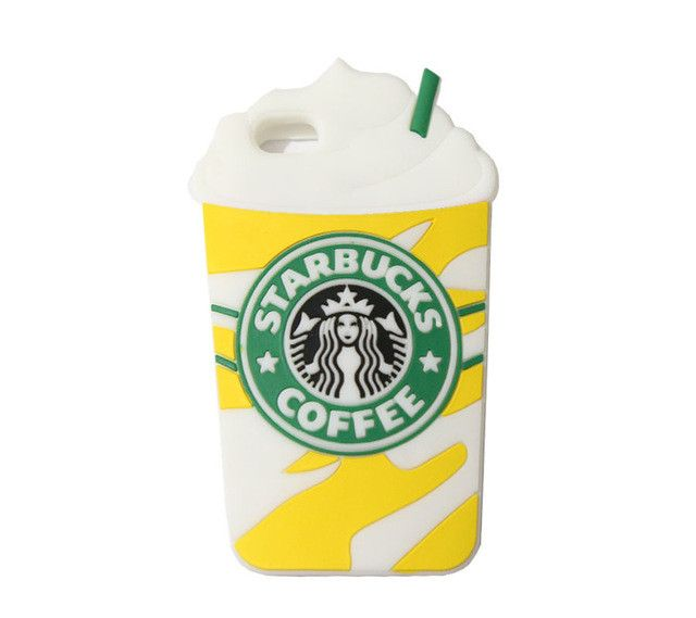 3D Starbucks Coffee Cup Phone Cases for iPhone & Samsung Galaxy