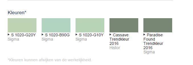 Trendkleur PPG 2016: Paradise Found. De verfkleuren zijn bij Deco Home Bos te mengen in verschillende verven. www.decohomebos.nl
