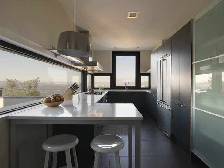 Decoracion moderno cocina comodas encimeras vidrio - Griferias de cocina ...