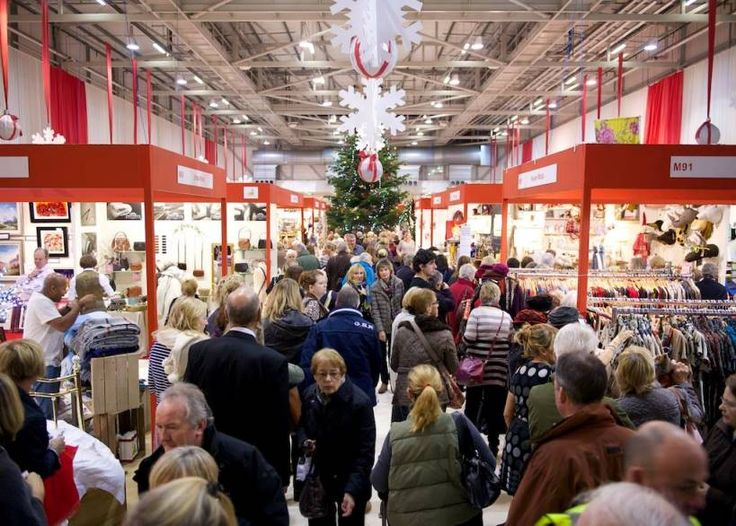The 2014 Country Living Magazine Christmas Fair In Harrogate