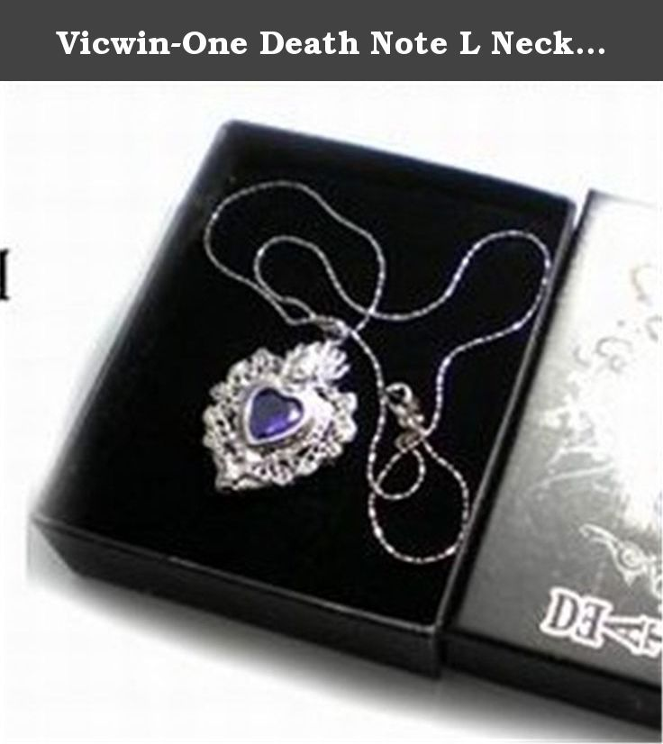 Vicwin-One Death Note L Necklace Cosplay. Fit For:Anime banquet,Birthday Gift,Cosplay Summit .