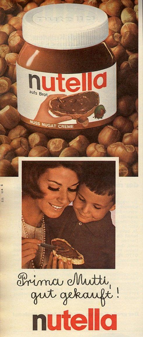 Meist gab's selbstgemachte Marmelade. Die Himbeermarmelade war genial ... aber nutella war was ganz besonderes. Gab's selten und  ... heißbegehrt