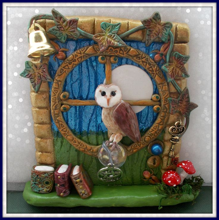 Fairy Door - www.facebook.com/charmedfairydoors
