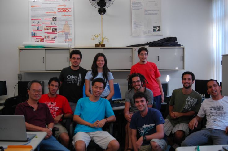 Federal University of Sao Carlos, Sao Paulo - Brazil: Panagiotis was an intern in Brazil in 2009. This is a group photo of the Research Group he was participating in.