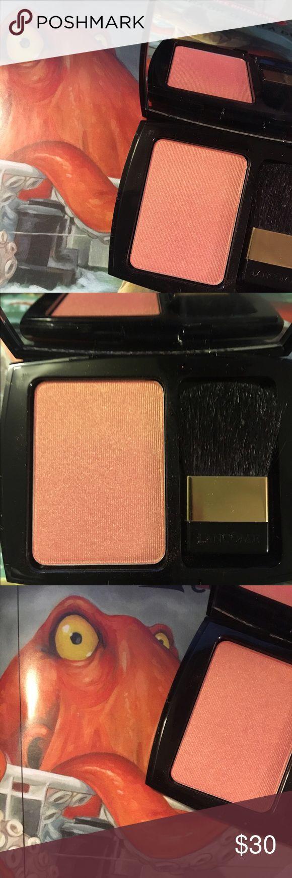 💕On Hold💕Lancôme Blush ~ Summer Mandarin Sky New, never used Lancôme Blush Subtil shimmer. Perfect spring and summer shade. Full size. Lancome Makeup Blush