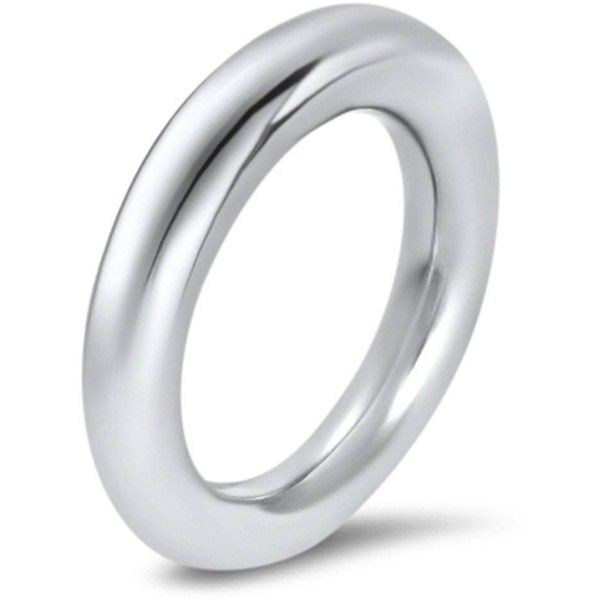 Hargreaves Stockholm - Commitment Fredag White Gold Band ($4,400) ❤ liked on Polyvore featuring jewelry, rings, white gold eternity ring, eternity band ring, white gold jewelry, white gold band ring and white gold rings
