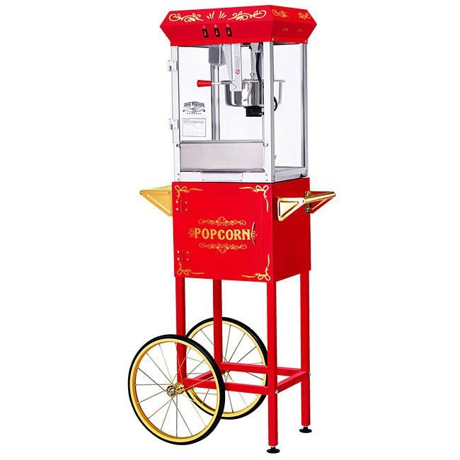 Great Northern Popcorn GNP-800 All Star Popcorn Machine and Cart