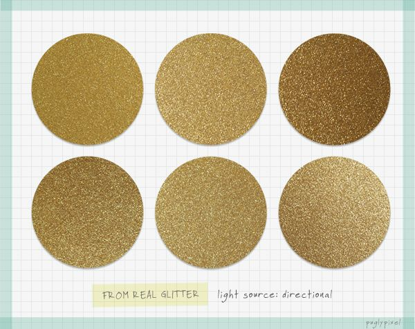 Pugly Pixel is awesome. This proves it. Gold Glitter Textures for Photoshop...