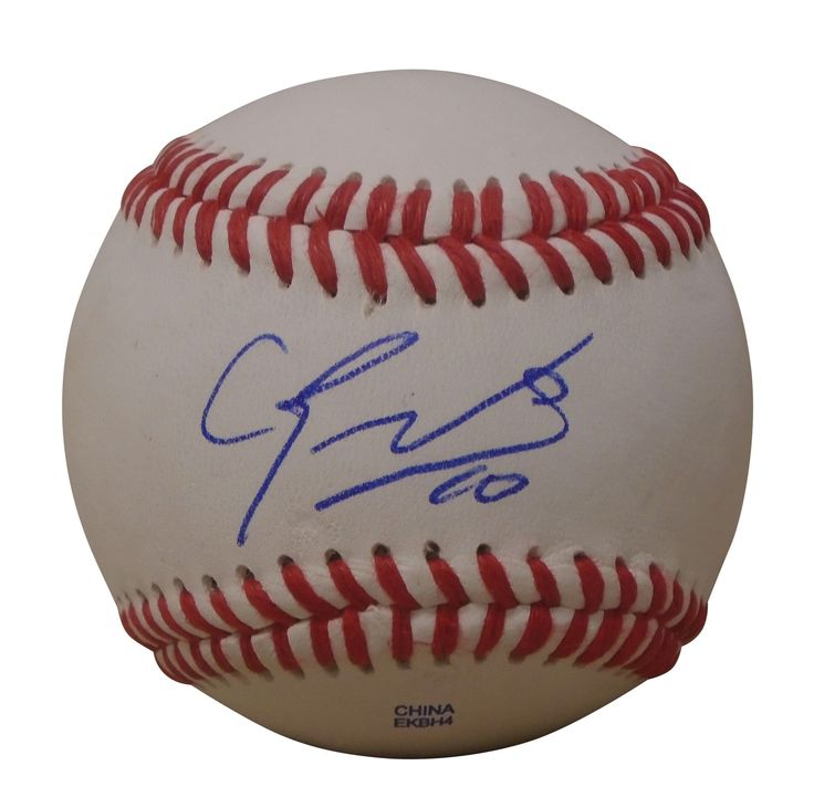 NY Yankees Eduardo Nunez signed Rawlings ROLB leather baseball w/ proof photo.  Proof photo of Eduardo signing will be included with your purchase along with a COA issued from Southwestconnection-Memorabilia, guaranteeing the item to pass authentication services from PSA/DNA or JSA. Free USPS shipping. www.AutographedwithProof.com is your one stop for autographed collectibles from New York sports teams. Check back with us often, as we are always obtaining new items.
