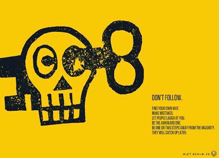 Don't follow. #HiutDenim #denim #ideas