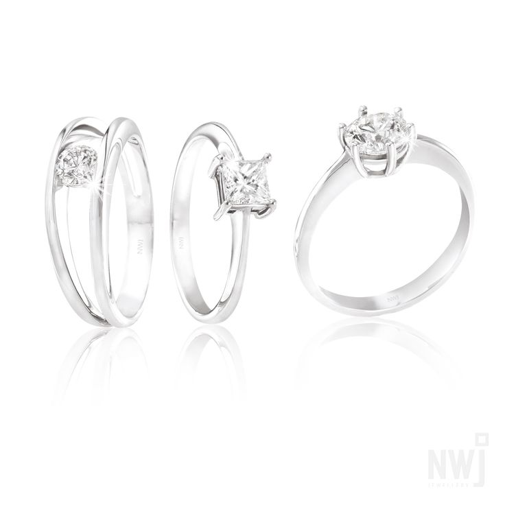 Diamond Collection: Timeless 18ct White Gold and Diamond Rings *Valid for 2013 #myNWJwishlist  LOVE LOVE LOVE THE MILLENIUM RING