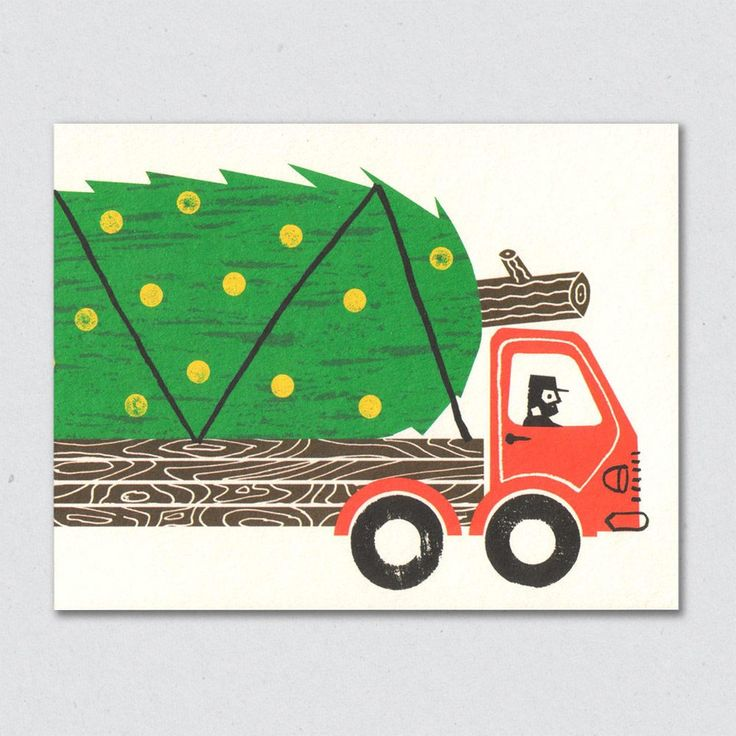 Massive Tree truck is offset printed locally on 100% recycled 270gsm card. Teamed with FSC accredited envelope and supplied in compostable cello wr...