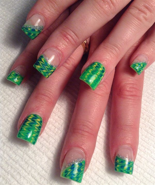 165 best St. Patrick\'s Day Nail Art images on Pinterest