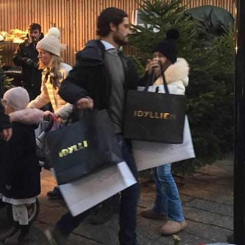 X mas shopping in Stockholm