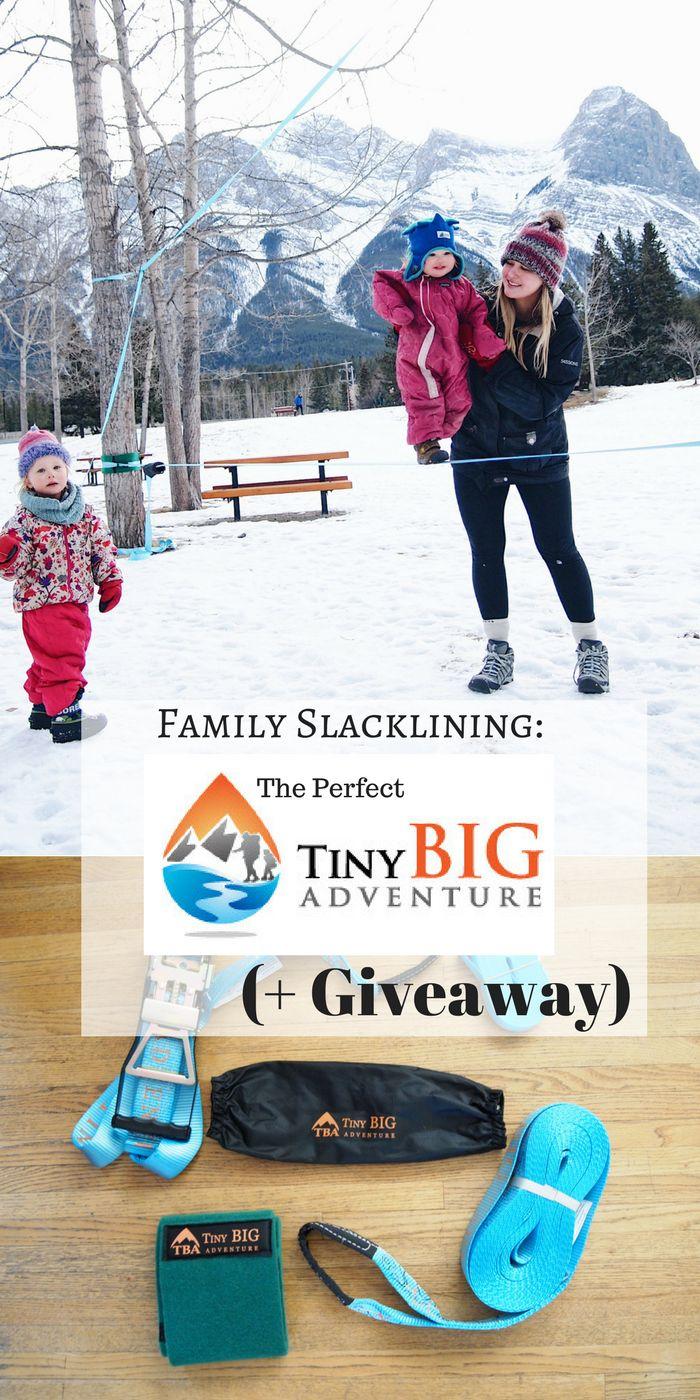 TBA Gear Slackline! A slackline designed for families.