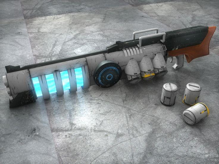 Plasma gun 101 by Stormfactor