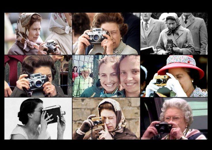 Photography is a hobby of queen elizabeth queen